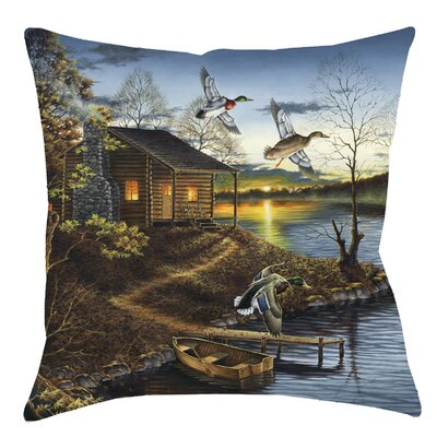 Autumn Retreat Throw Pillow