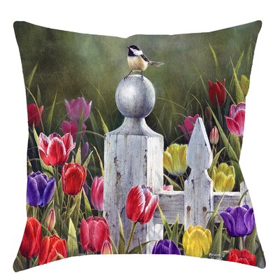 Picket Fence Throw Pillow