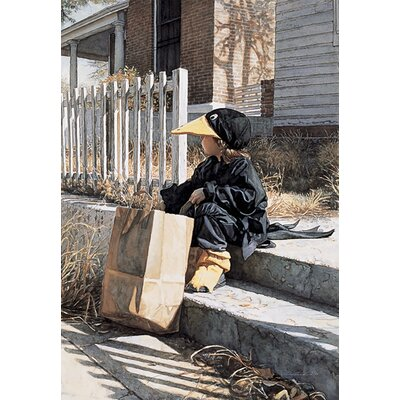'Little Black Crow' by Steve Hanks Painting Print 1303882