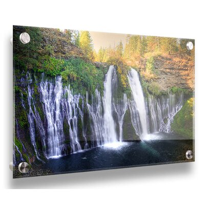 'Burney Falls' Photographic Print