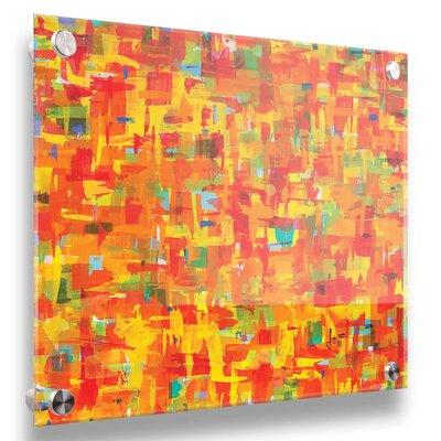 'Citrus' Acrylic Painting Print Size: 20