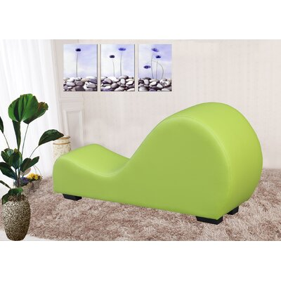 Yoga Chaise Lounge Color: Green