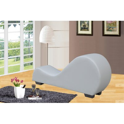 Yoga Chaise Lounge Color: Grey