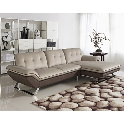 Container S0047R-2PC Bella Sectional Orientation