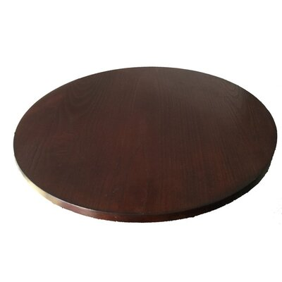 Wood Lazy Susan Finish: Brown