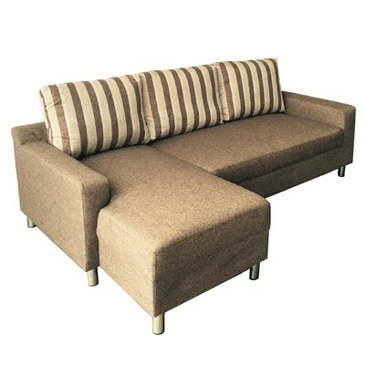 Kacy Reversible Sleeper Sectional Orientation: Left Hand Facing