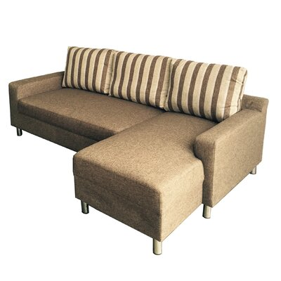 Kacy Reversible Sleeper Sectional Orientation: Right Hand Facing