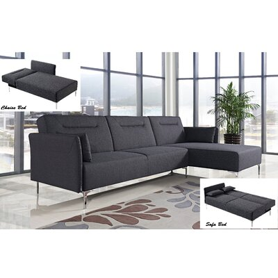 Elle Reversible Sleeper Sectional