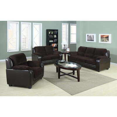 Container S5005-3PC 3 Piece Sofa Set Upholstery