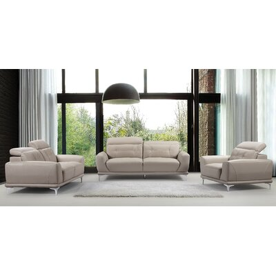 Container S5125-3PC 3 Piece Sofa, Loveseat and Chair Set