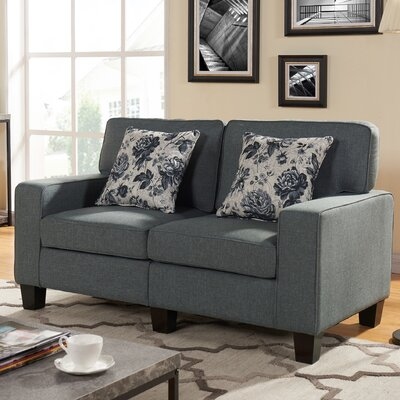Loveseat Color: Gray