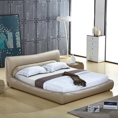 Upholstered Platform Bed Size: King
