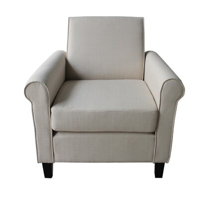 Arm Chair Color: Beige