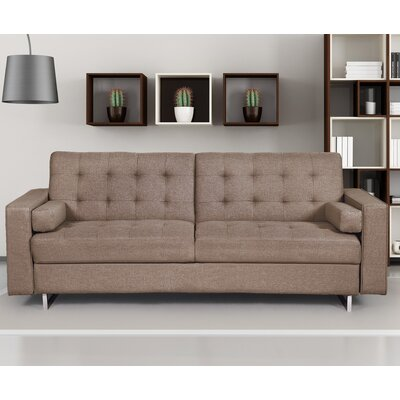 Sleeper Sofa Color: Brown