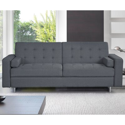 Sleeper Sofa Upholstery: Gray