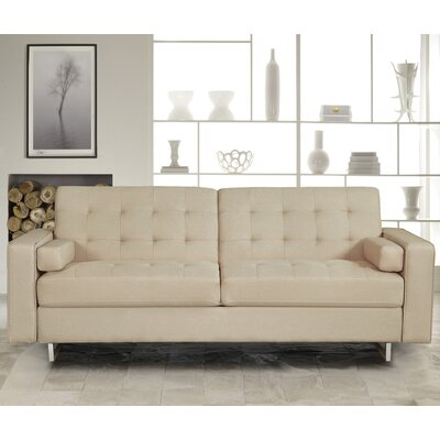 Sleeper Sofa Color: Beige