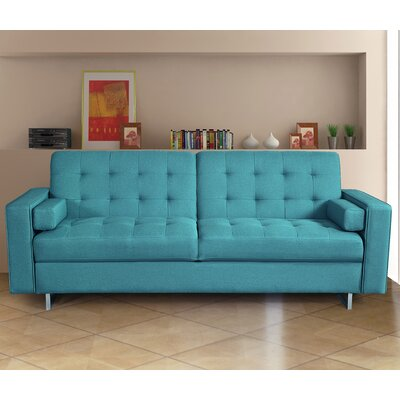 Sleeper Sofa Upholstery: Blue