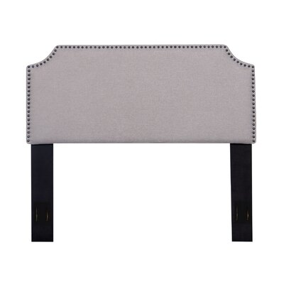 Upholstered Panel Headboard Color: Light Brown