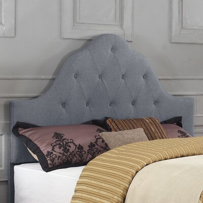 Upholstered Panel Headboard Color: Gray