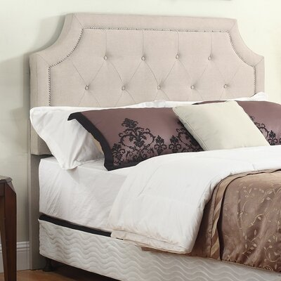 Upholstered Panel Headboard Color: Beige