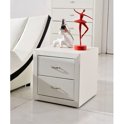 Dona 2 Drawer Nightstand