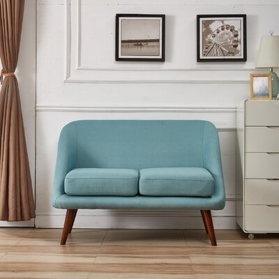 Container S5180 Modern Style Loveseat Upholstery