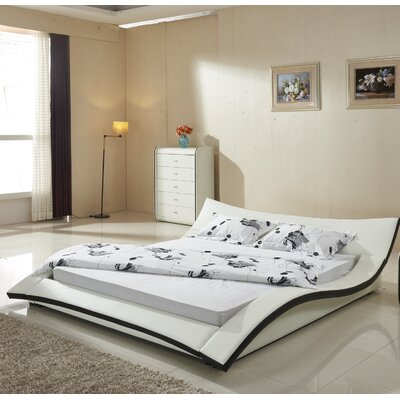 California King Upholstered Platform Bed