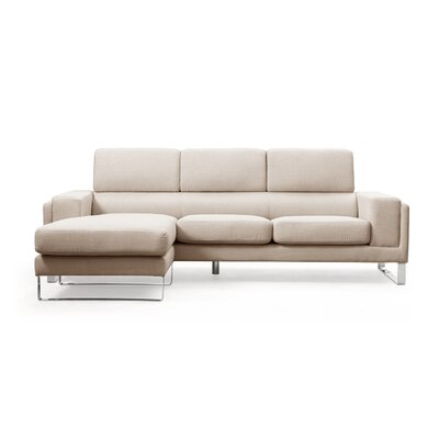Reversible Sectional Upholstery: Beige