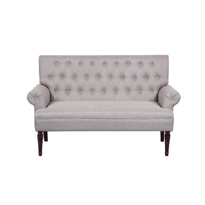 Loveseat Upholstery: Light Brown