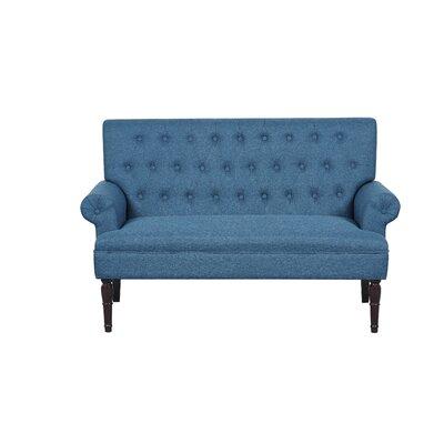 Loveseat Upholstery: Ocean Blue