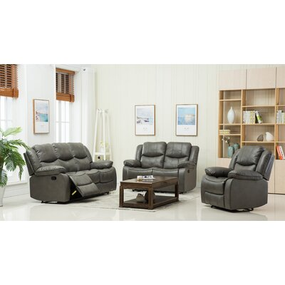 Container S6039-3PC 3 Piece Living Room Set  Upholstery