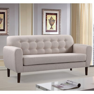 Container S5218-L Mid-Century Tufted Loveseat Upholstery