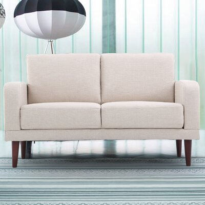 Container S5210-L Linen Upholstered Loveseat Upholstery