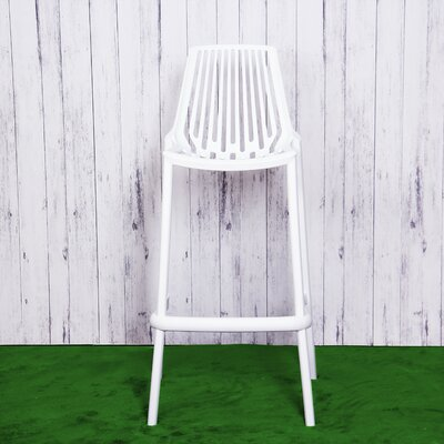 Plastic 29.5 Bar Stool Finish: White