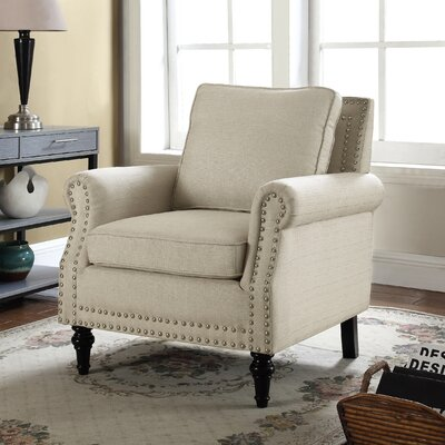 Upholstery Arm Chair Upholstery: Beige