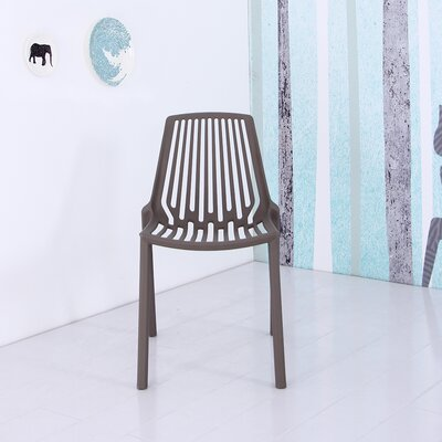 Plastic Side Chair Finish: Gray