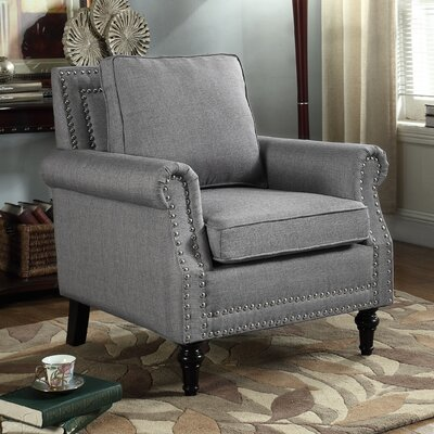 Upholstery Armchair Upholstery: Gray