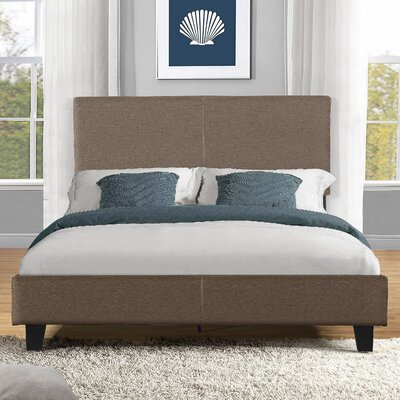 Fulgham Platform Bed Size: Full, Color: Grey