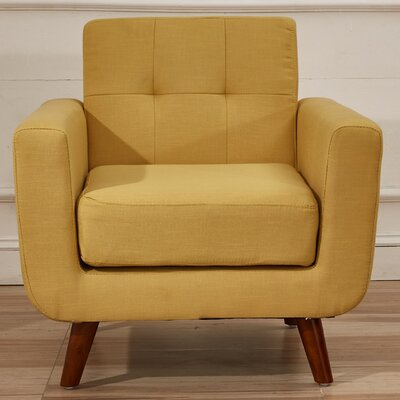 Southborough Arm Chair Upholstery: Naples Yellow