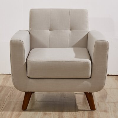 Southborough Armchair Upholstery: Tan