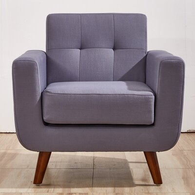 Southborough Armchair Upholstery: Taupe Gray