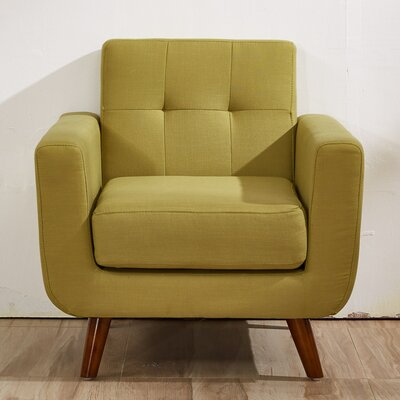 Southborough Armchair Upholstery: Olive Green