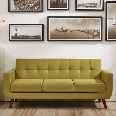 Southborough Sofa Upholstery: Olive Green