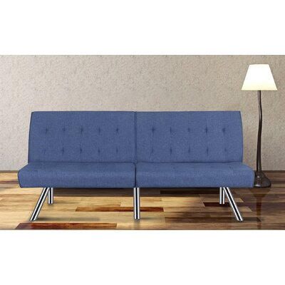 Jayden Sofa Bed Sleeper Upholstery: Navy Blue