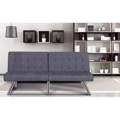 Jayden Sofa Bed Sleeper Upholstery: Gray