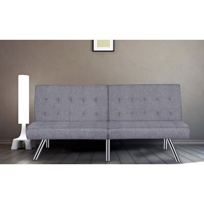 Jayden Sofa Bed Sleeper Upholstery: Light Gray