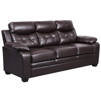 Kaitlin Modern Sofa Upholstery: Brown