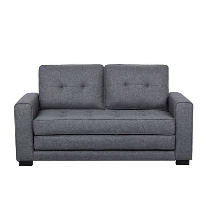 Duke Sofa Bed Sleeper Upholstery: Dark Gray
