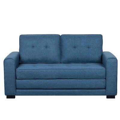 Duke Sofa Bed Sleeper Upholstery: Ocean Blue