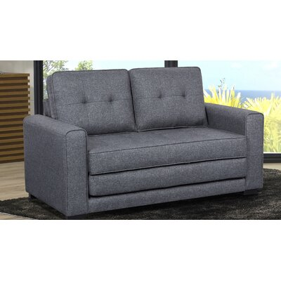 Duke Sleeper Sofa Upholstery: Dark Gray